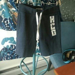Hollister dark gray shorts
